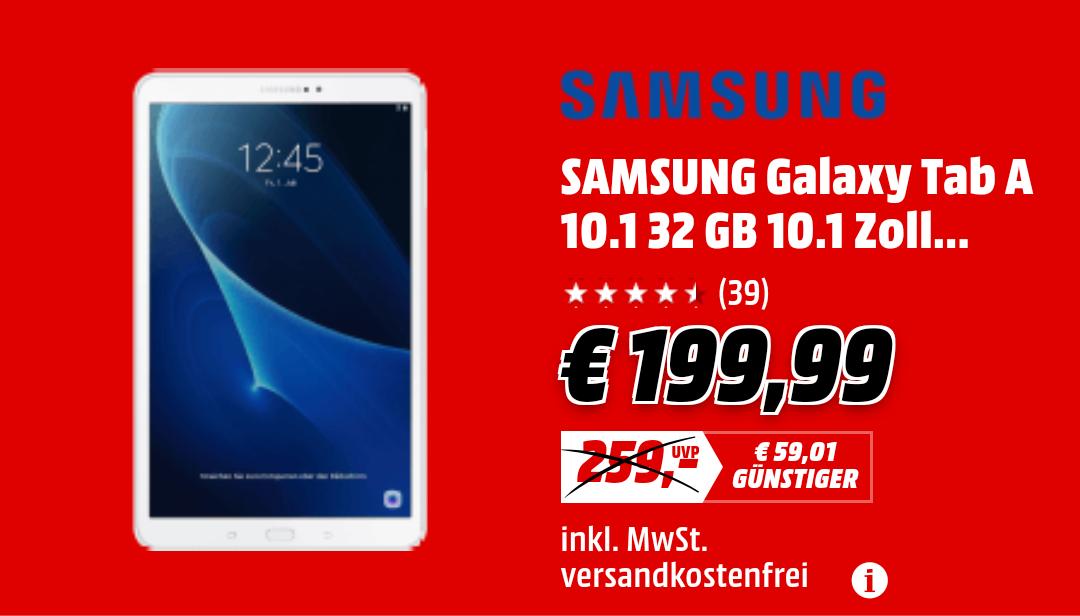 [MediaMarkt] Samsung Galaxy Tab A 10.1 32GB