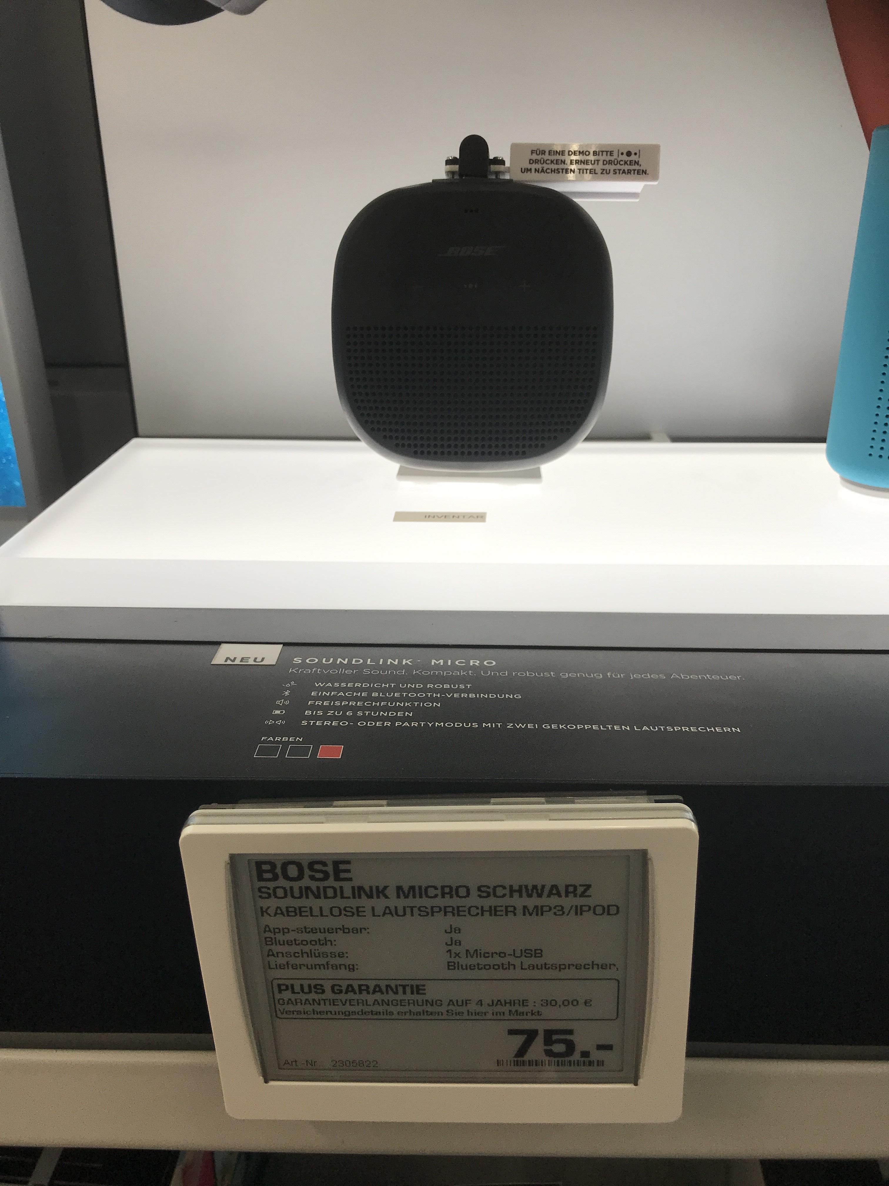 Bose SoundLink Micro (Lokal - Jena) Saturn