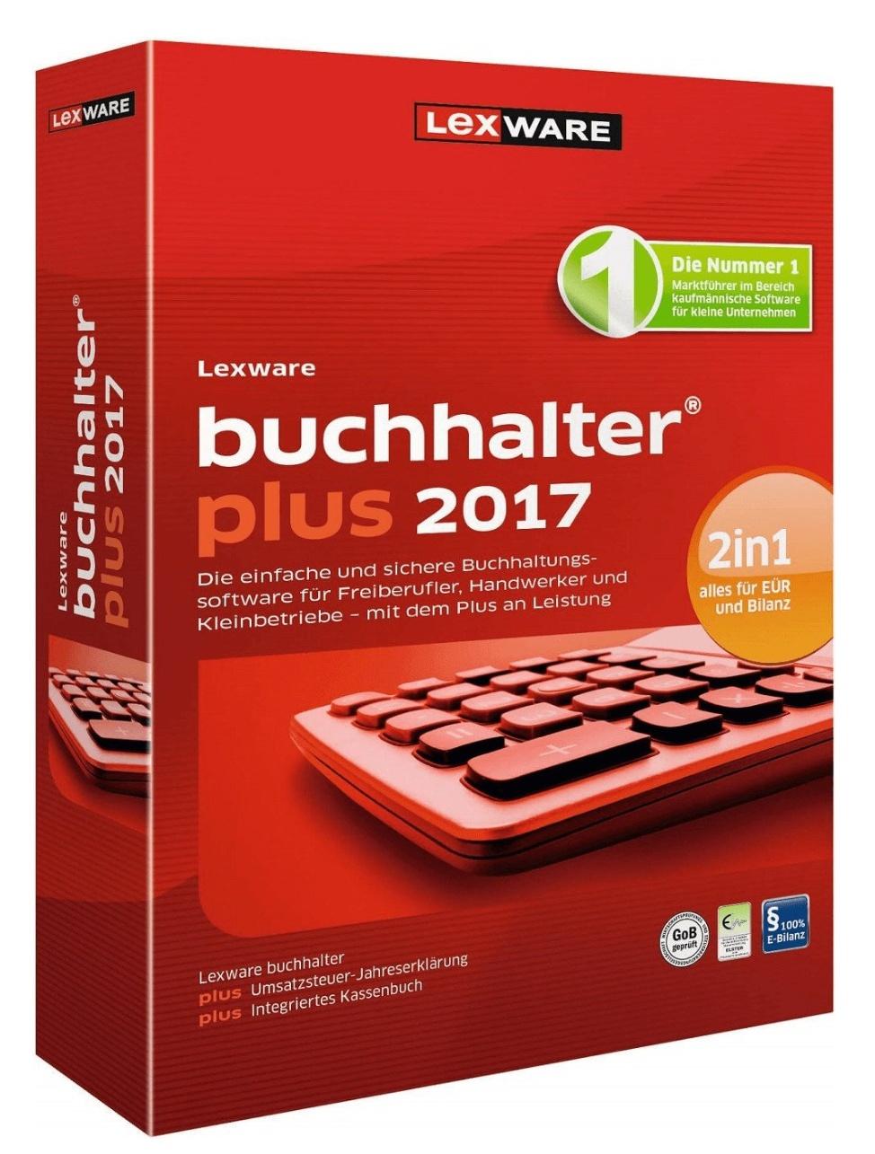 Lexware Buchhalter Plus 2017 (Jahreslizenz, Box)