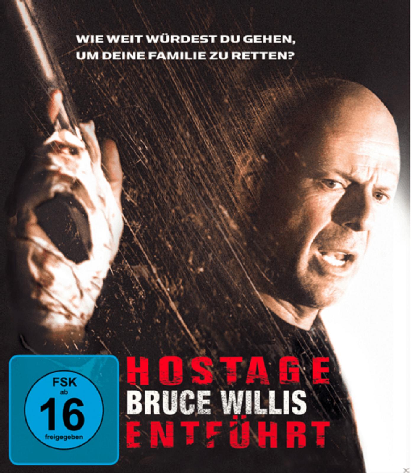 Hostage - Entführt Steelbook Edition (Blu-ray) für 5,99€ (Amazon Prime & Media Markt)