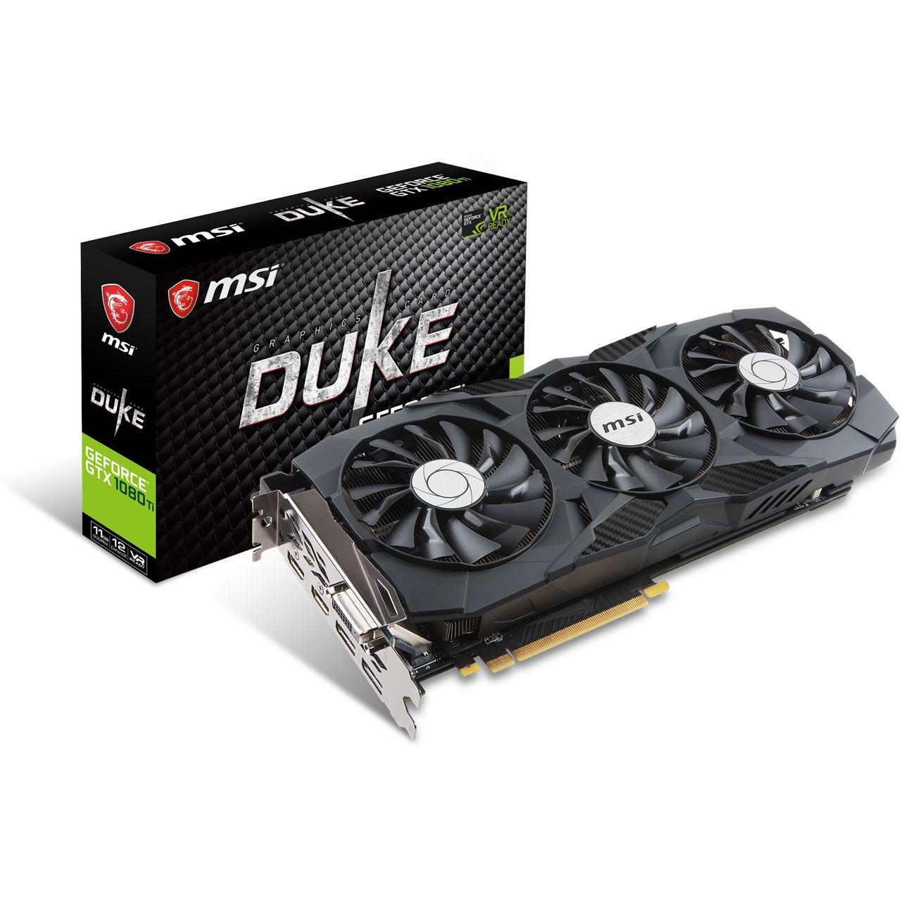 MSI GeForce GTX 1080 Ti Duke OC - 11GB