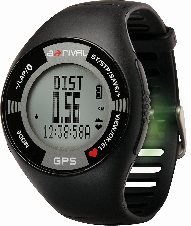 a-rival SpoQ HR GPS Trainings-, Lauf-, und Pulsuhr (Bluetooth, 250 mm, Schwarz ) für 25€ versandkostenfrei (Media Markt)