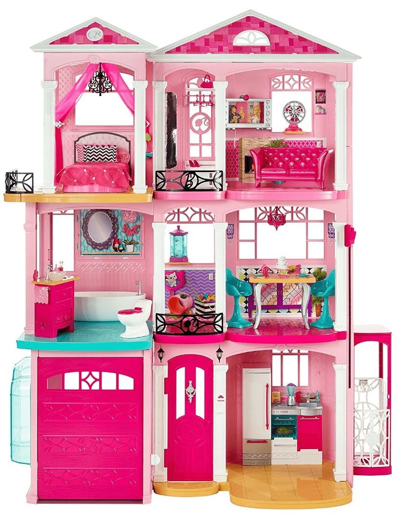Barbie Traumvilla CJR47, 3 Etagen, Aufzug, 7 Zimmer, 1,20m Höhe, Mattel Puppenhaus / + 5% Shoop möglich