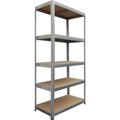 Obi Metall-Schwerlast-Steckregal Verzinkt 180 x 90 x 40 cm für 19,99 EUR im Markt und Online