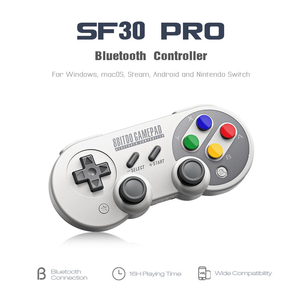 8Bitdo SF30 Pro Wireless Bluetooth Controller für €29.99 @Aliexpress