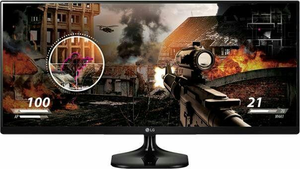 "LG 25UM58-P Monitor 25"" - 21:9 UltraWide, 2560x1080, AH-IPS, matt, 99% sRGB, 75Hz (Amazon.it)"