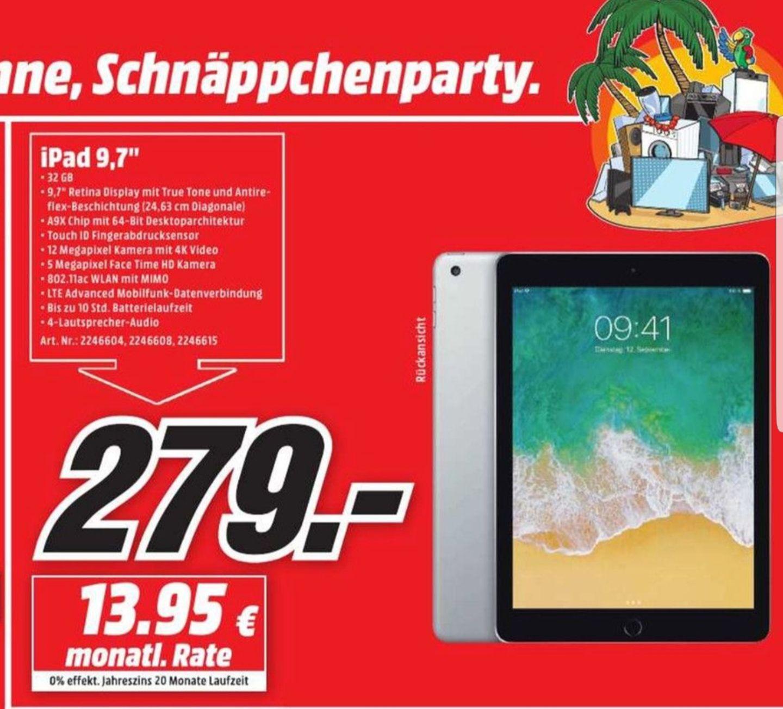 [Lokal Media Markt Bonn und Bornheim] Apple IPad 9.7, 32GB
