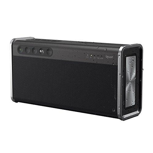 [amazon] Creative iROAR Go - Leistungsfähiger, wetterfester 5-Treiber Bluetooth Lautsprecher (Bluetooth 4.2, NFC, USB, mircoSD, Aux In, AAC, 5.200mAh, Freisprechfunktion, IPX6) in schwarz