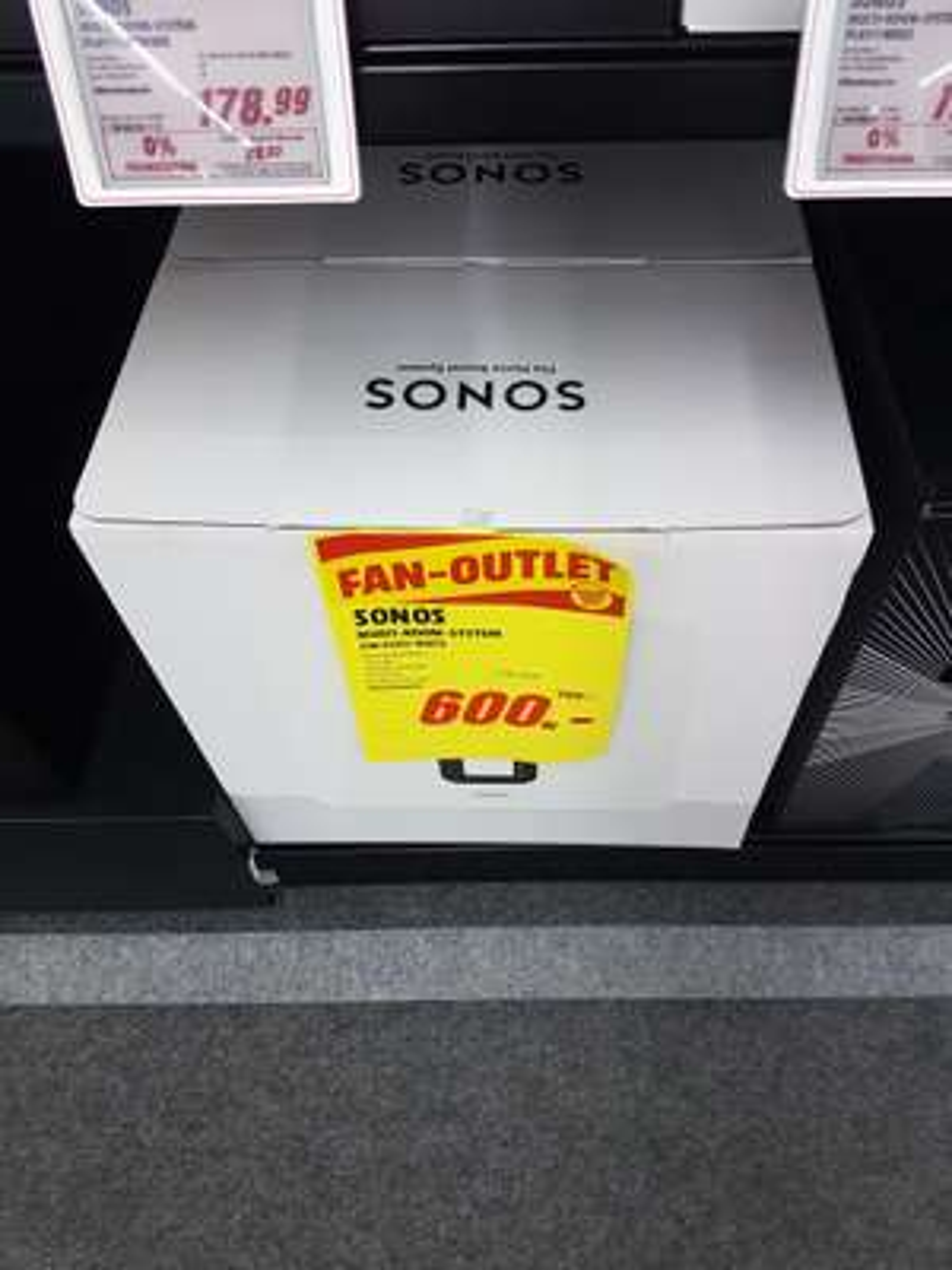 Sonos SUB Weiß [Lokal Media Markt Offenburg]