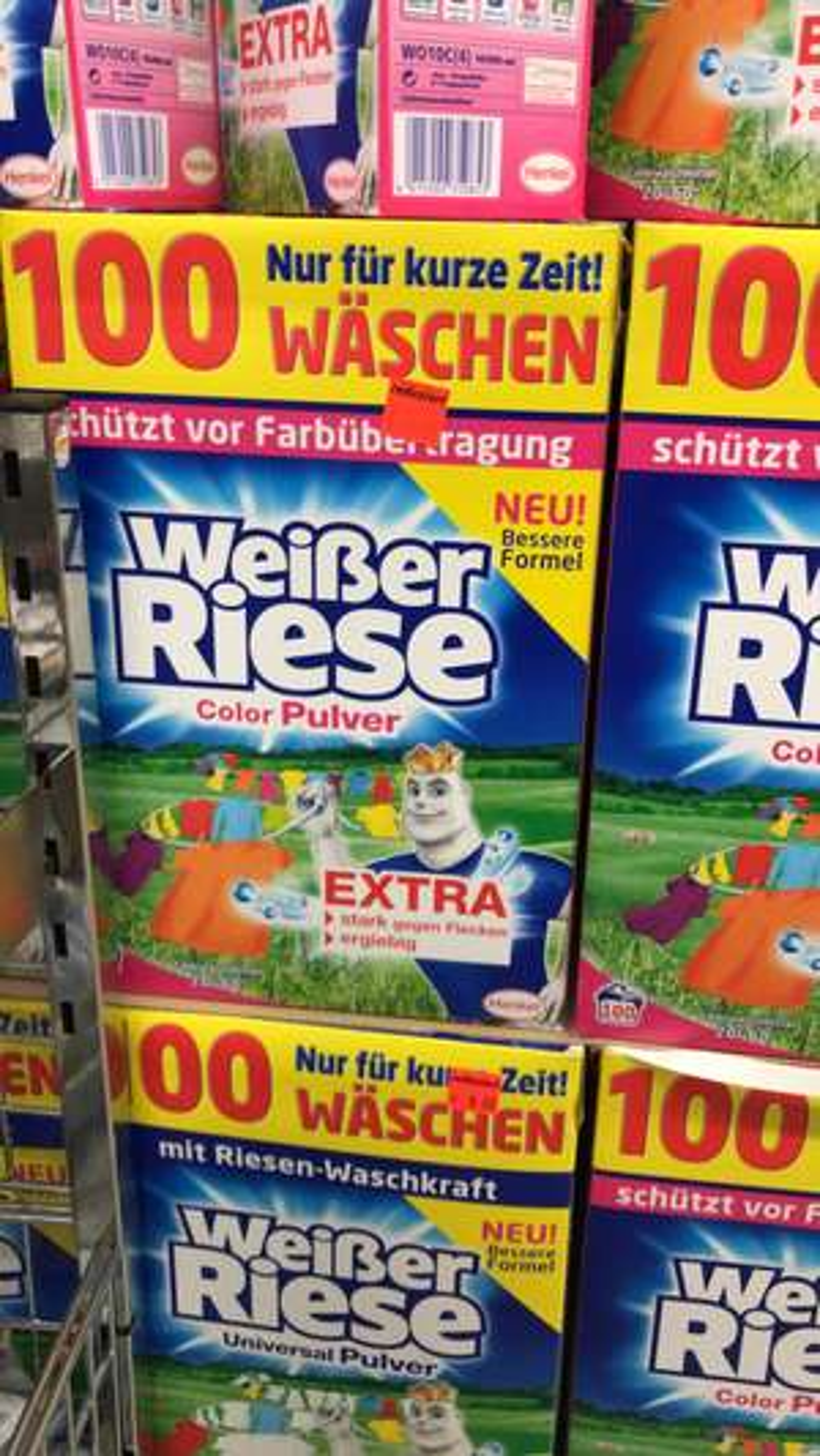 [Lokal - Aldi Hannover] Weisser Riese Waschpulver Universal/ Color