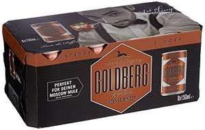 Goldberg Intense Ginger Fridge, 3er Pack, 3 x 8 x 150ml