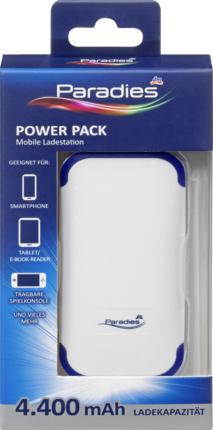 4400 mAh (dm) Powerbank, Ausverkauf - in einigen dm-Märkten nicht mehr verfügbar