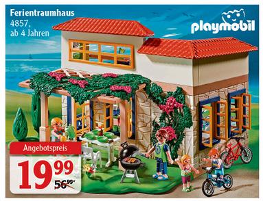 [Globus lokal] Playmobil Ferientraumhaus 4857