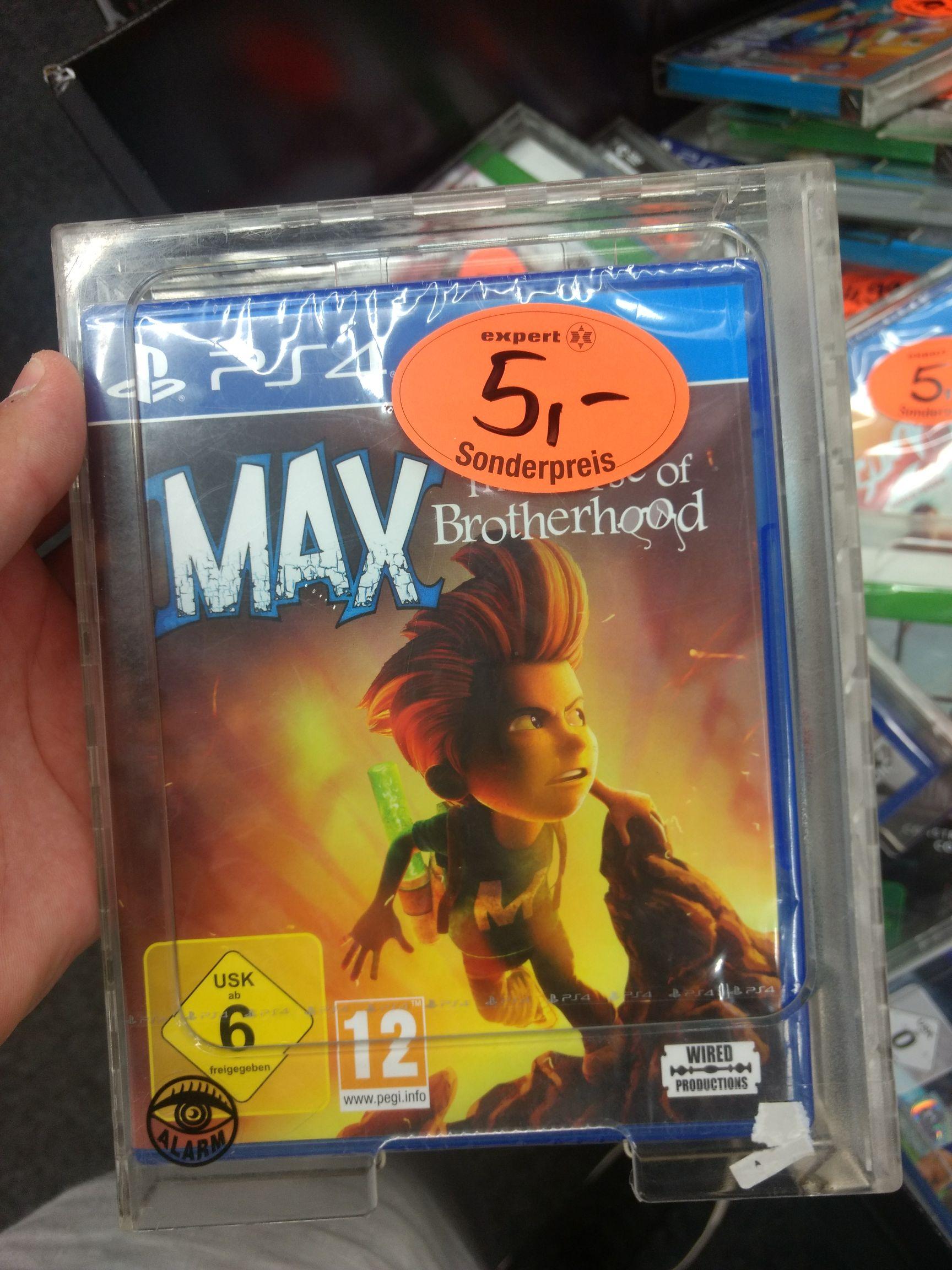 Sammeldeal Expert (Lokal Ibbenbüren) Max: The Curse of Brotherhood(PS4) uvm.
