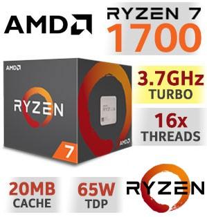 [MINDSTAR] AMD Ryzen 7 1700 8C/16T bis 3.7Ghz AM4 CPU TRAY