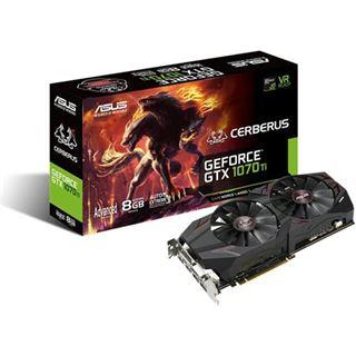 8GB Asus GeForce GTX 1070 Ti Cerberus Advanced  399€ + Sammeldeal: weitere Mindstar Grafikkarten GTX 1050 (Ti), 1060, 1070 (Ti), 1080