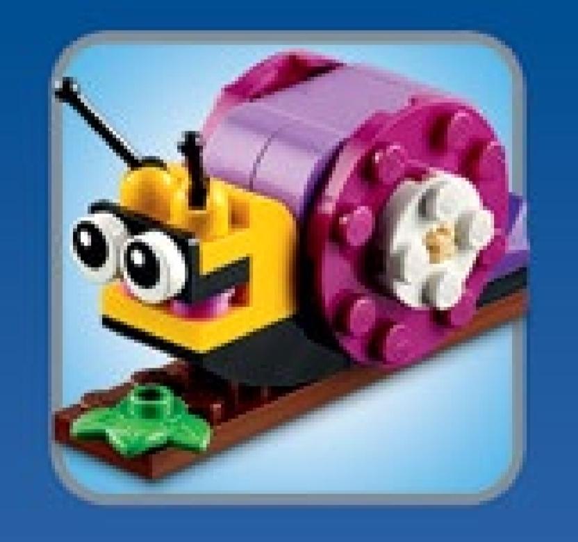 Gratis Lego Mini Schnecke am 2.8. in den Lego-Stores [Lego Stores offline]