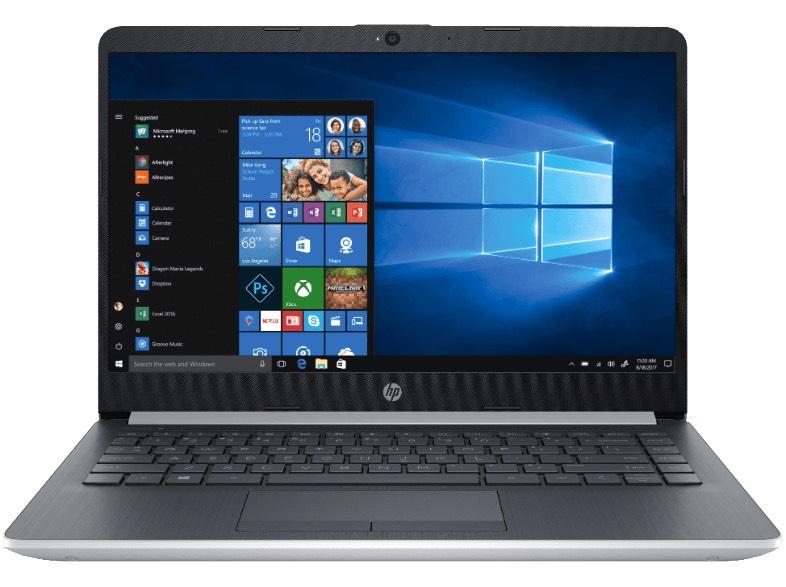 HP 14-ma0302ng - 14″ Notebook (Celeron, 4GB RAM, 128GB SSD) für 333€