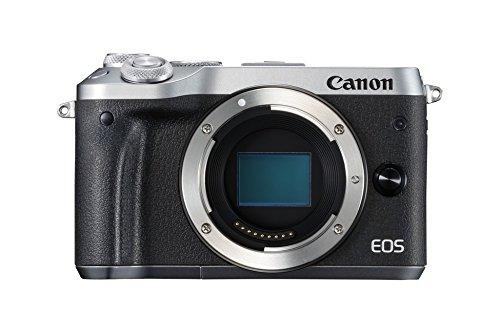 [amazon.es] Canon EOS M6 Gehäuse in silber oder schwarz