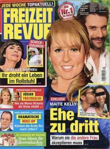 Freizeit Revue 1 Jahr (52 Ausgaben) für 109,20 € - 6 € Rabatt mit 60 € Verrechnungsscheck
