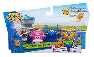 AMAZON.FR - Super Wings Transfoming Mini Set 2x4 Pack
