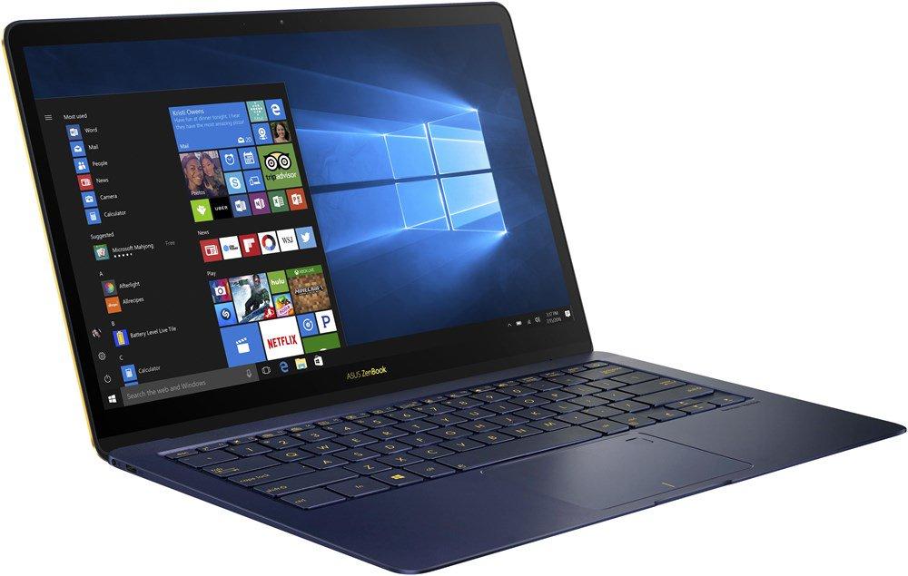 Asus ZenBook 3 Deluxe in blau (i5-7200U, 8GB Ram, 256GB PCIe SSD, 2x Thunderbolt 3)