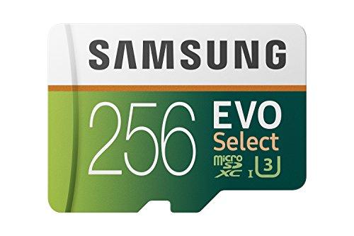MicroSDXC Karte Samsung Evo Select 256GB (amazon.it)
