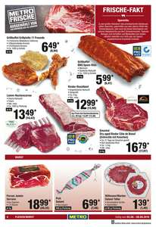 [Metro] Argentinisches Rinder - Roastbeef bei der Metro wieder im Angebot