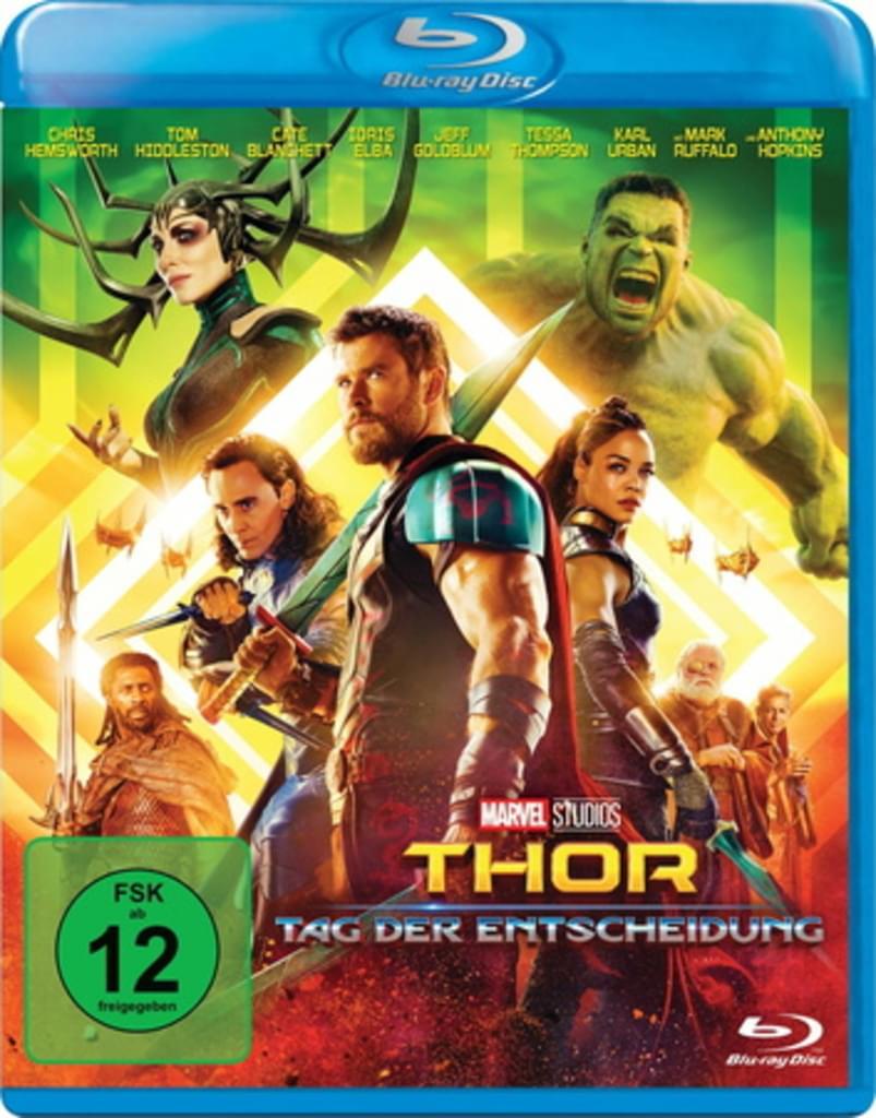 Thor: Tag der Entscheidung (Blu-ray) für 10,49€ (Real)