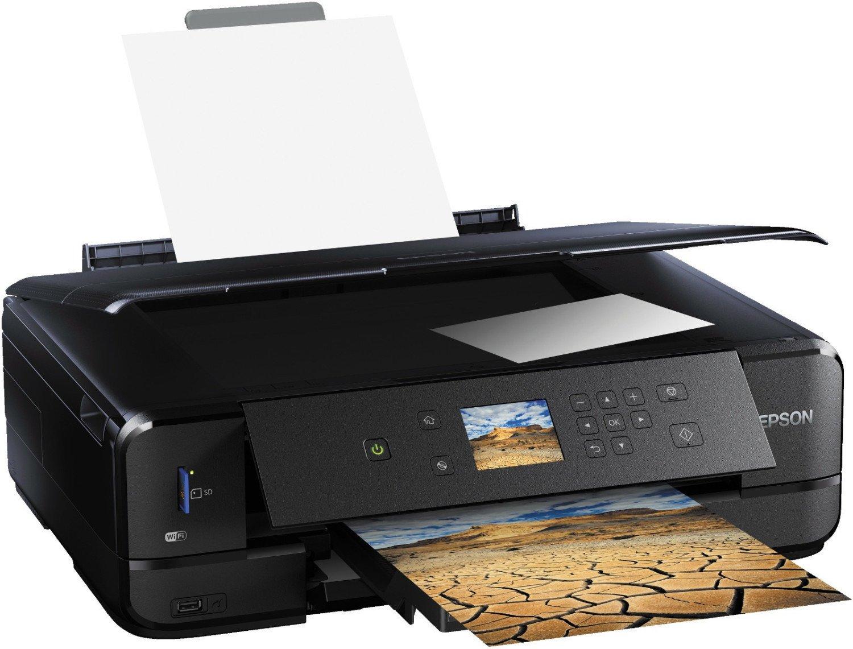 Epson Expression Premium XP-900 Tintenstrahl Multifunktions- / Fotodrucker (5-Tinten-Drucksystem, Duplexdruck, Schwarz/Weiß 14 S/min, Farbe 11 S/min, WLAN, Ethernet, AirPrint)