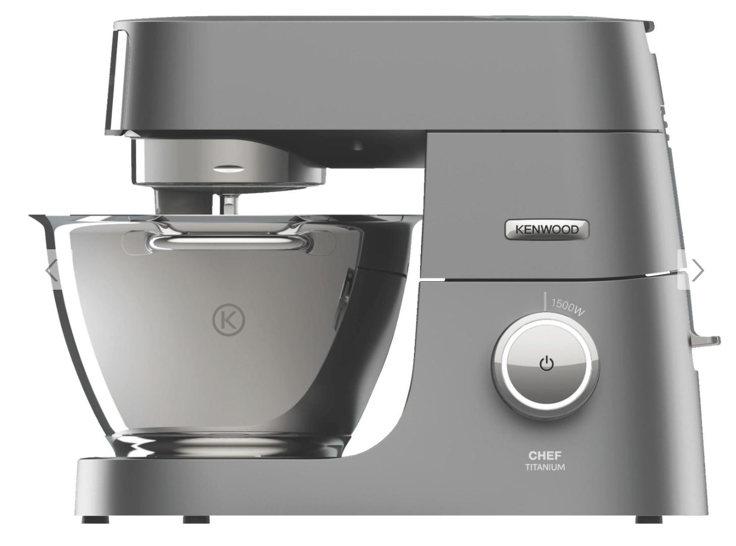 (Saturn Köln Hohestraße) Kenwood Titanium Chef System Pro KVC 7350 S incl. Ice Cream Maker