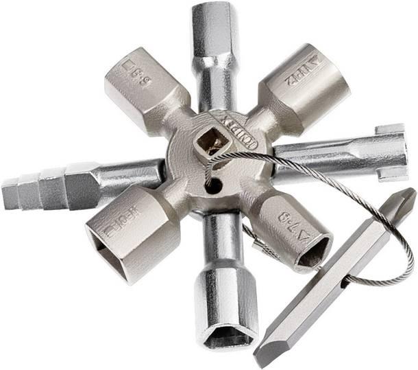 Knipex TwinKey (Schaltschrankschlüssel)