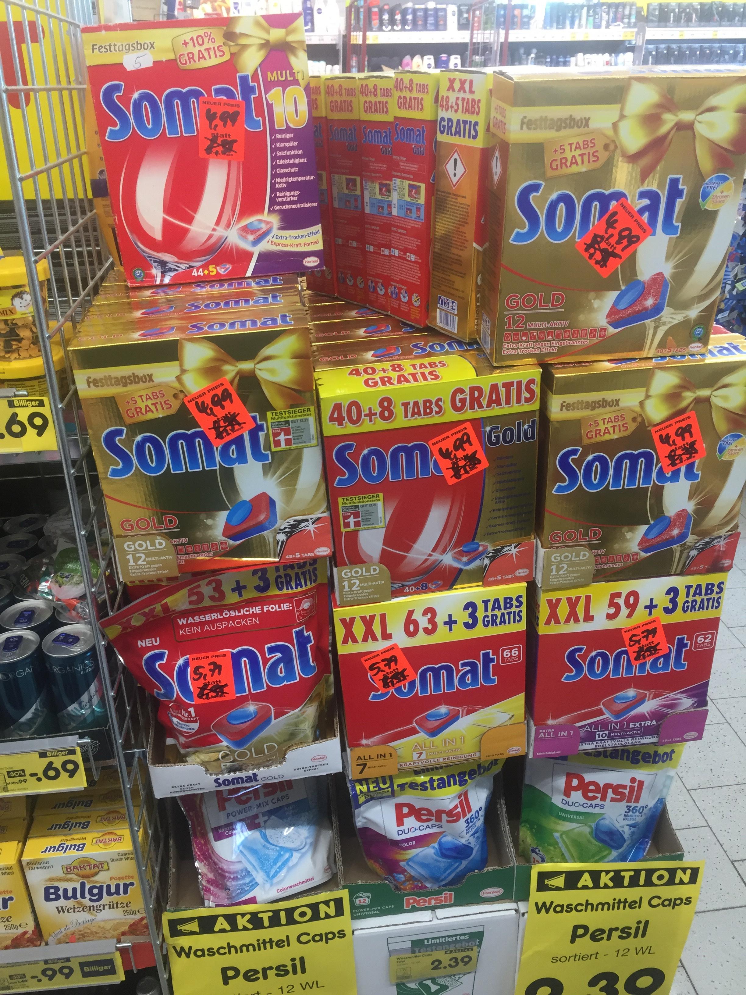 (Lokal) Somat Gold 53x für 4,99 Netto Wittstock