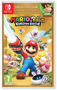 Mario + Rabbids: Kingdom Battle Gold Edition (Switch) für 35,20€ (ShopTo & Amazon UK)