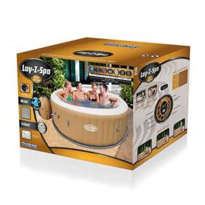 "Bestway Lay-Z-Spa Whirlpool""Palm Springs"", 196 x 71 cm Pool Whirlpool Amazon"