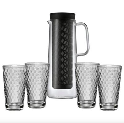 WMF- & Silit-Produkte im Sale + 5% Rabatt beim Kauf von 2 und 10% Rabatt ab 3 Produkten bei Nautilus via ebay, z.B. WMF Cold Brew-Kanne mit Honeycomb-Gläsern