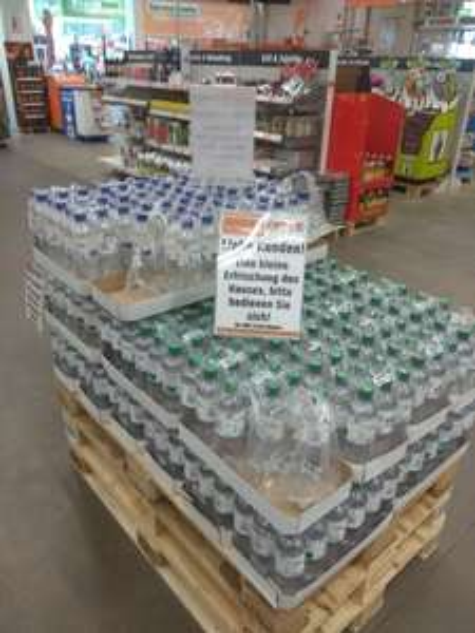 [Lokal][OBI Siegen] Kostenloses Wasser 0,5l Classic/medium