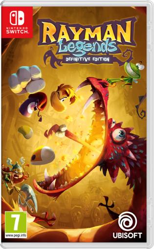 Rayman Legends: Definitive Edition (Switch) für 21,17€ (ShopTo)