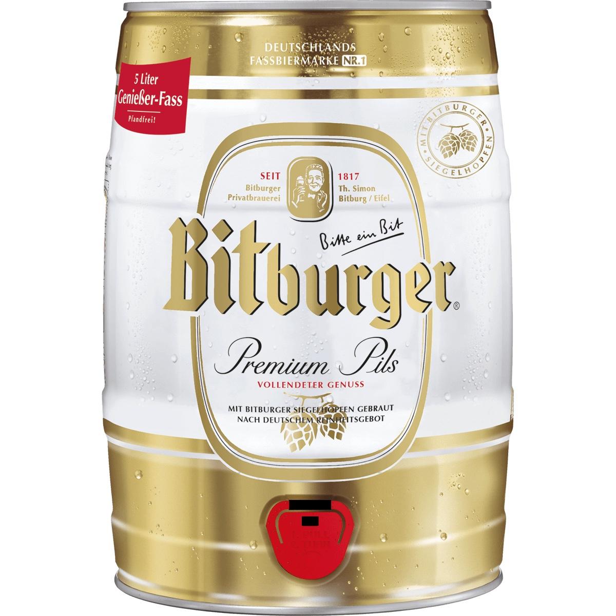 Bitburger 5L Fass  -   Lokal Magdeburg