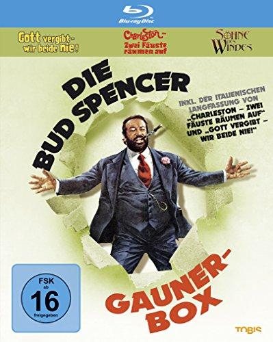 Die Bud Spencer Gauner Box (Blu-ray) für 18,99€ (Amazon Prime & Saturn & MM)