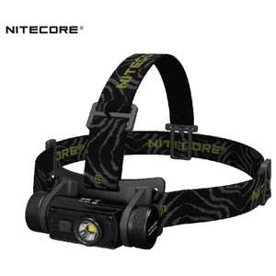 Nitecore HC60 LED Stirnlampe inkl. 18650 Li-ion Akku