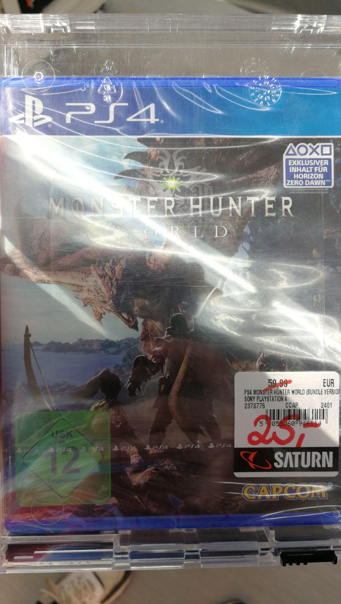 PS4 Monster Hunter World (lokal Saturn Europacenter Berlin)