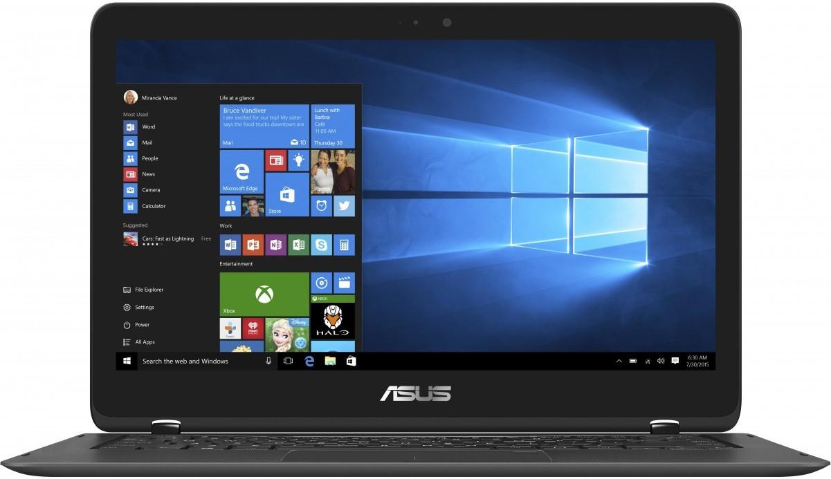 "Asus Zenbook Flip Convertible UX360UAK-BB415T (13,3"" Full HD Touchdisplay, i5-7200U, 8GB Ram, 256GB SSD)"
