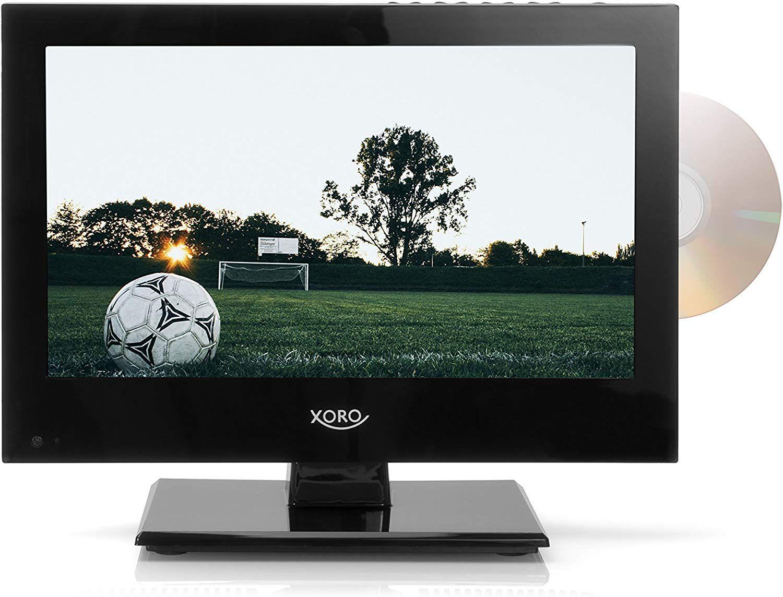 """Offline, Real: XORO HTC 1346 13,3"""" (33,78 cm) LCD Fernseher mit integriertem DVD Player und HD Triple Tuner"""