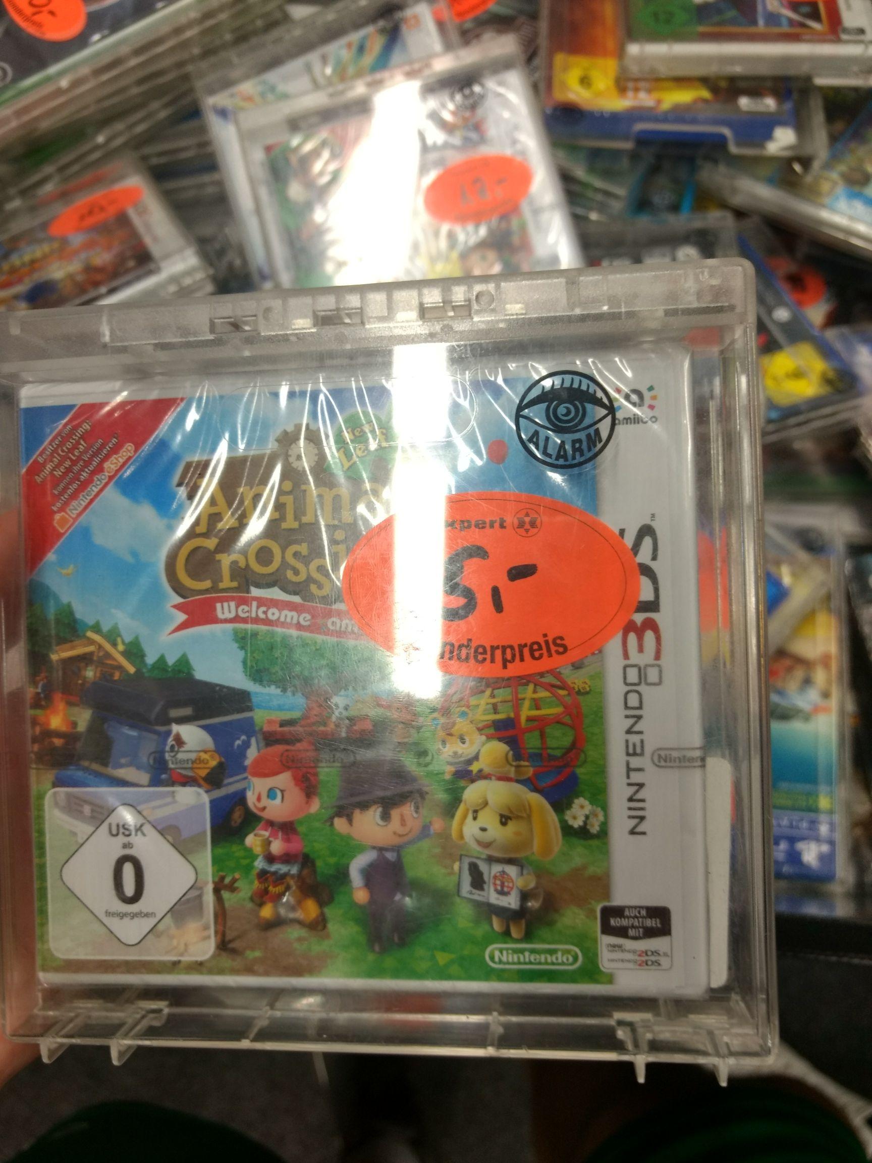 Animal Crossing: New Leaf - Welcome amiibo (3DS) für 5€ & Super Smash BrosBros. (3DS) für 12€ (Lokal Expert Ibbenbüren)