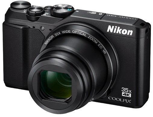 NIKON Coolpix A900 Kompaktkamera Schwarz oder Silber für 299€ inkl. Versand