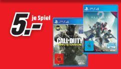 [Regional Mediamarkt Lingen/Meppen] Call of Duty: Infinite Warfare PS4 und Destiny 2 PS4 für je 5,-€
