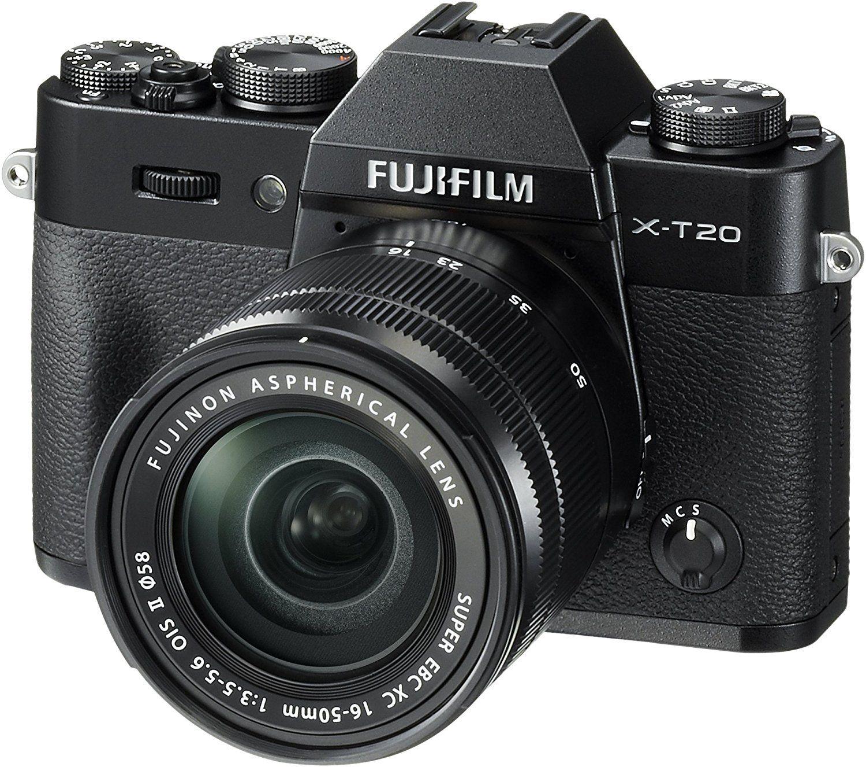 FUJIFILM X-T20 Systemkamera 24.3 Megapixel mit Objektiv FUJINON XC16-50 mm f/3.5-5.6