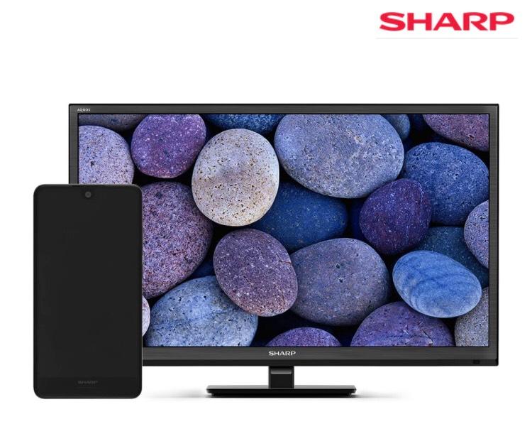 Real online, Sharp B10 + Sharp LC-24CHF4012E