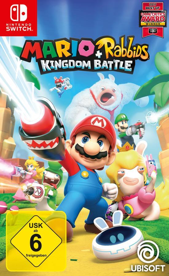 Mario + Rabbids: Kingdom Battle (Switch) für 29,96€ (GameStop)
